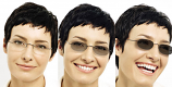 szemüveglencse FÉNYRE SÖTÉTEDŐ standard  műanyag